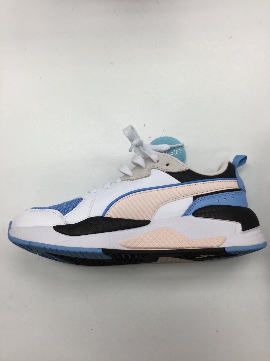 Photo #3 - BRAND: PUMA <BR>STYLE: SHOES ATHLETIC <BR>COLOR: BLUE <BR>SIZE: 7.5 <BR>SKU: 155-15599-232961<BR>POWDER BLUE, PALE PINK, AND BLACK.