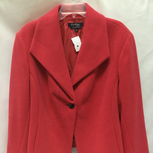 Primary Photo - BRAND: EVAN-PICONE STYLE: COAT SHORT COLOR: CORAL SIZE: 3X SKU: 155-155227-2192