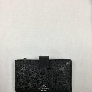 Primary Photo - BRAND: COACH STYLE: WALLET COLOR: BLACK SIZE: SMALL SKU: 155-155185-7946