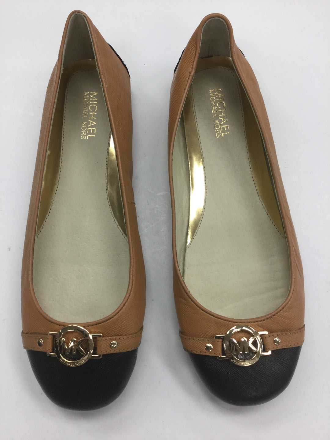 Primary Photo - BRAND: MICHAEL BY MICHAEL KORS <BR>STYLE: SHOES FLATS <BR>COLOR: CARAMEL <BR>SIZE: 9 <BR>SKU: 155-15545-207095