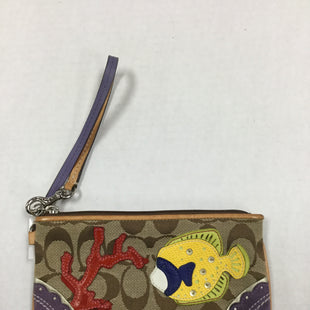 Primary Photo - BRAND: COACH STYLE: WRISTLET COLOR: TAN SKU: 155-155187-24783