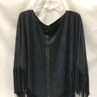 Primary Photo - BRAND:    CLOTHES MENTOR STYLE: PONCHO COLOR: NAVY SIZE: ONESIZE SKU: 155-155215-3981