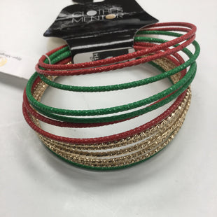 Primary Photo - BRAND:    CLOTHES MENTOR STYLE: BRACELET COLOR: RED GREEN GOLDSKU: 155-15599-218330