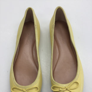 Primary Photo - BRAND: BANANA REPUBLIC STYLE: SHOES FLATS COLOR: YELLOW SIZE: 7 SKU: 155-15599-230859