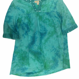 Primary Photo - BRAND: MICHAEL BY MICHAEL KORS STYLE: TOP SHORT SLEEVE COLOR: GREEN SIZE: S SKU: 155-155220-12235