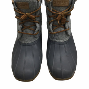 Primary Photo - BRAND: SPERRY STYLE: BOOTS RAIN COLOR: GREY SIZE: 7.5 SKU: 155-155224-22423