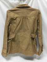 Photo #1 - BRAND:    CLOTHES MENTOR <BR>STYLE: JACKET OUTDOOR <BR>COLOR: TAN <BR>SIZE: S <BR>SKU: 155-155163-125038