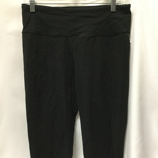 Primary Photo - BRAND: VICTORIAS SECRET STYLE: ATHLETIC CAPRIS COLOR: BLACK SIZE: L SKU: 155-155224-17036