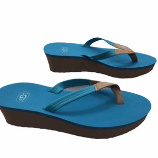 Primary Photo - BRAND: UGG STYLE: SANDALS LOW COLOR: TURQUOISE SIZE: 7 SKU: 155-155224-25070