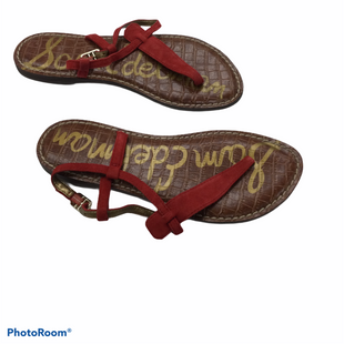 Primary Photo - BRAND: SAM AND LIBBY STYLE: SANDALS FLAT COLOR: RED SIZE: 5.5 SKU: 155-155185-10034