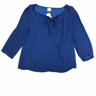 Primary Photo - BRAND: CABI STYLE: TOP LONG SLEEVE COLOR: NAVY SIZE: M SKU: 155-155130-211288