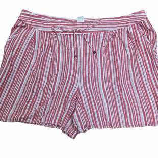 Primary Photo - BRAND: TERRA & SKY STYLE: SHORTS COLOR: STRIPED SIZE: 2X OTHER INFO: SMALL HOLE IN POCKET - SEE PHOTOSKU: 155-155245-691
