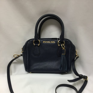 Primary Photo - BRAND: MICHAEL BY MICHAEL KORS STYLE: HANDBAG DESIGNER COLOR: NAVY SIZE: MEDIUM OTHER INFO: NEW! SKU: 155-155130-210729