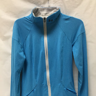 Primary Photo - BRAND: UNDER ARMOUR STYLE: ATHLETIC JACKET COLOR: BLUE SIZE: M SKU: 155-155224-11198