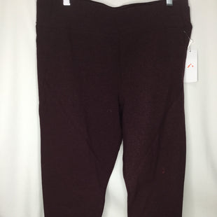 Primary Photo - BRAND: CALVIN KLEIN STYLE: ATHLETIC PANTS COLOR: MAROON SIZE: XL SKU: 155-155130-214528