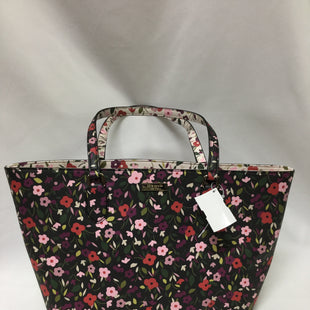 Primary Photo - BRAND: KATE SPADE STYLE: HANDBAG DESIGNER COLOR: FLORAL SIZE: LARGE OTHER INFO: LINING SLIGHT WEAR SKU: 155-155130-211383