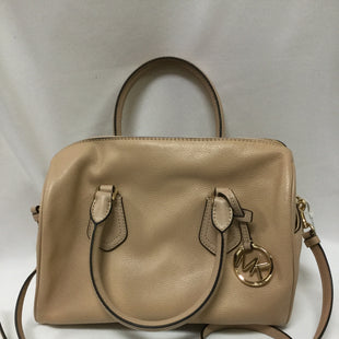 Primary Photo - BRAND: MICHAEL BY MICHAEL KORS STYLE: HANDBAG DESIGNER COLOR: TAN SIZE: LARGE OTHER INFO: LIGHT WEAR NOTED SKU: 155-155130-211658