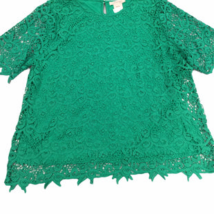 Primary Photo - BRAND: PHILOSOPHY STYLE: TOP SHORT SLEEVE COLOR: GREEN SIZE: 1X SKU: 155-155228-2108
