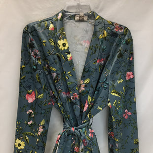 Primary Photo - BRAND: ANN TAYLOR STYLE: BLAZER JACKET COLOR: FLORAL SIZE: XL SKU: 155-155163-123869SLATE BLUE, PINK, GREEN, YELLOW