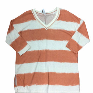Primary Photo - BRAND: HONEYME STYLE: SWEATER LIGHTWEIGHT COLOR: ORANGE CREAMSIZE: L SKU: 155-155224-22167