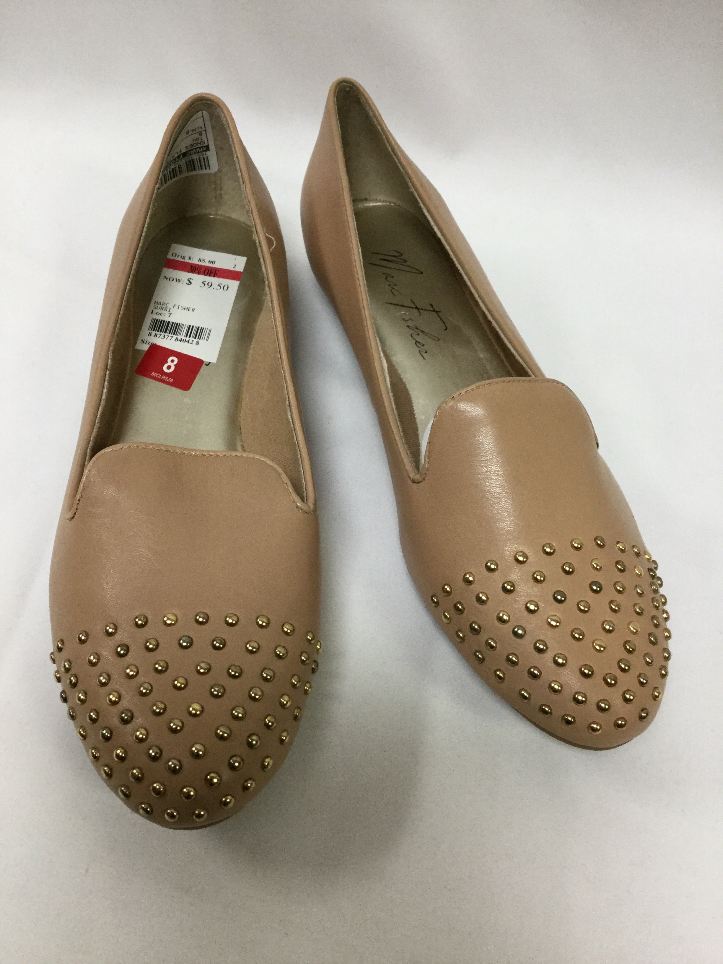 Primary Photo - BRAND: MARC FISHER <BR>STYLE: SHOES FLATS <BR>COLOR: TAN <BR>SIZE: 8 <BR>SKU: 155-155220-4475