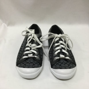 Primary Photo - BRAND: COACH STYLE: SHOES LOW HEEL COLOR: CHARCOAL SIZE: 9 SKU: 155-155224-18734