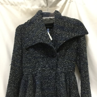 Primary Photo - BRAND: FREE PEOPLE STYLE: COAT SHORT COLOR: BLACK BLUE GREYSIZE: S SKU: 155-155201-18240