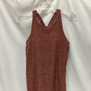Primary Photo - BRAND: PRANA STYLE: ATHLETIC TANK TOP COLOR: RUST SIZE: S SKU: 155-15545-208772