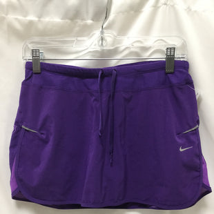 Primary Photo - BRAND: NIKE APPAREL STYLE: ATHLETIC SKIRT SKORT COLOR: PURPLE SIZE: S SKU: 155-155185-7097