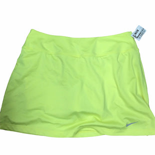 Primary Photo - BRAND: NIKE APPAREL STYLE: ATHLETIC SKIRT SKORT COLOR: YELLOW SIZE: M SKU: 155-15599-247494