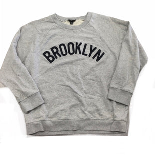 Primary Photo - BRAND: J CREW STYLE: TOP LONG SLEEVE COLOR: GREY SIZE: XL SKU: 155-155220-13212