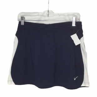 Primary Photo - BRAND: NIKE APPAREL STYLE: ATHLETIC SKIRT SKORT COLOR: NAVY SIZE: M SKU: 155-155224-20755