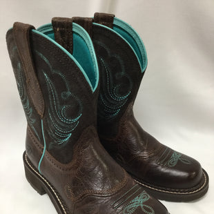 Primary Photo - BRAND: ARIAT STYLE: BOOTS ANKLE COLOR: BROWN SIZE: 7 SKU: 155-155185-7703
