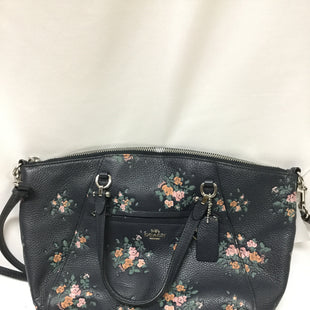 Primary Photo - BRAND: COACH STYLE: HANDBAG DESIGNER COLOR: NAVY SIZE: MEDIUM SKU: 155-15599-235151