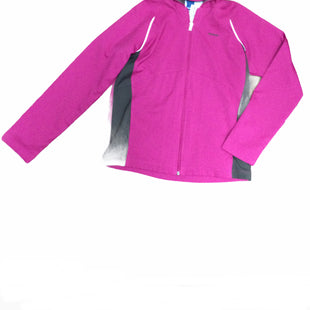 Primary Photo - BRAND: REEBOK STYLE: ATHLETIC JACKET COLOR: MAGENTA SIZE: M SKU: 155-155220-13741