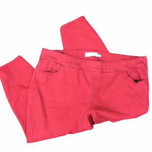 Primary Photo - BRAND: TORRID STYLE: PANTS COLOR: RED SIZE: 26 SKU: 155-155245-847
