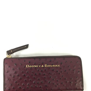 Primary Photo - BRAND: DOONEY AND BOURKE STYLE: WALLET COLOR: BURGUNDY SIZE: LARGE SKU: 155-155224-14322