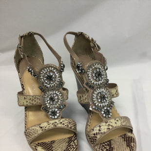 Primary Photo - BRAND: GIANNI BINI STYLE: SANDALS HIGH COLOR: SNAKESKIN PRINT SIZE: 9 SKU: 155-155130-203158