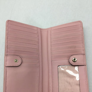 Primary Photo - BRAND: KATE SPADE STYLE: WALLET COLOR: PINK SIZE: LARGE OTHER INFO: NOTED SOME WEAR AND MARKS SKU: 155-155215-3778