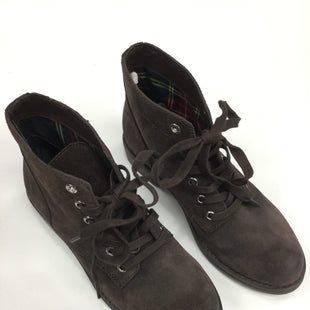 Primary Photo - BRAND: SAM EDELMAN STYLE: BOOTS ANKLE COLOR: CHOCOLATE SIZE: 6.5 SKU: 155-155185-4597