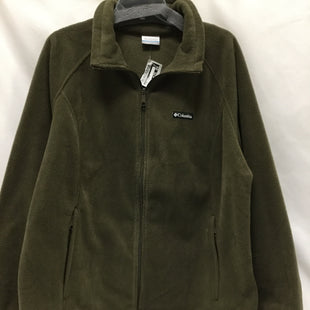 Primary Photo - BRAND: COLUMBIA STYLE: JACKET OUTDOOR COLOR: HUNTER GREEN SIZE: 2X SKU: 155-155228-746