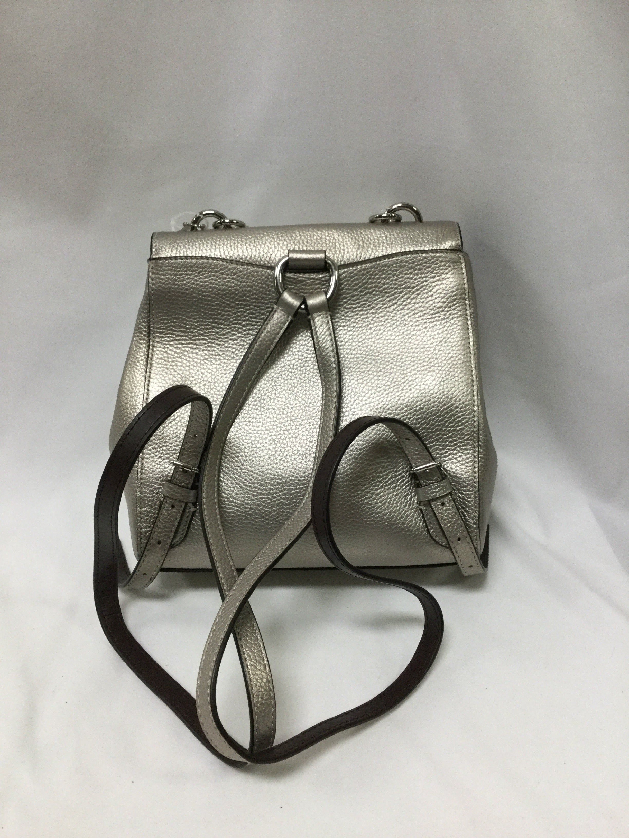 Photo #1 - BRAND: COACH <BR>STYLE: BACKPACK <BR>COLOR: GOLD <BR>SIZE: SMALL <BR>SKU: 155-155185-7196