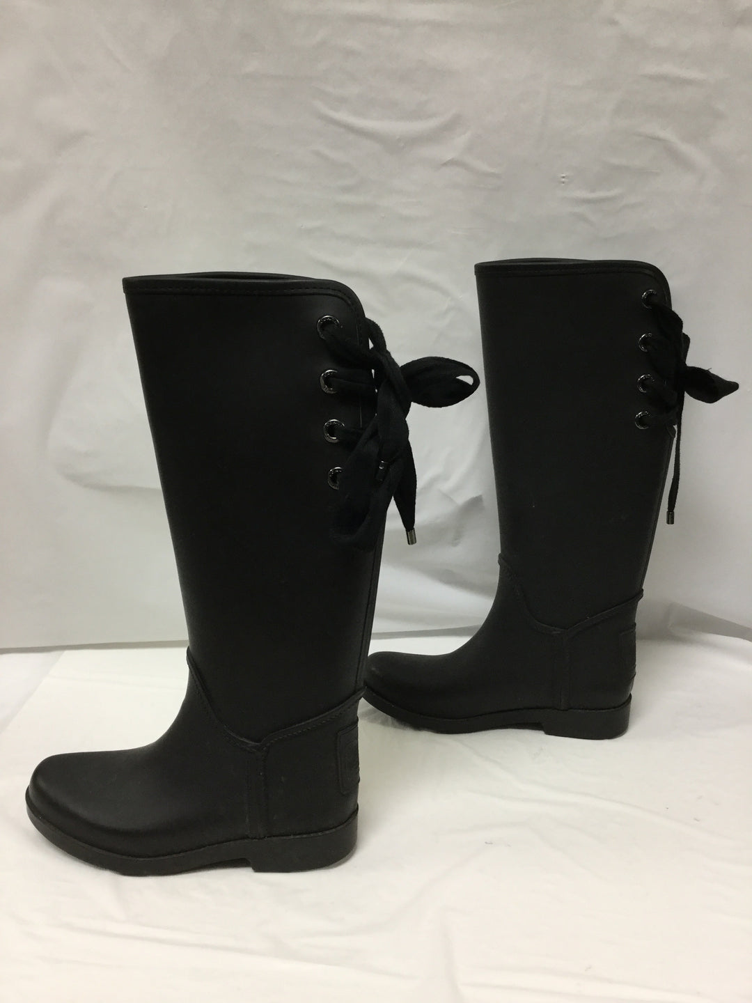 Photo #3 - BRAND: COACH <BR>STYLE: BOOTS RAIN <BR>COLOR: BLACK <BR>SIZE: 6 <BR>OTHER INFO: SLIGHT WEAR NOTED <BR>SKU: 155-155130-204966