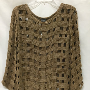 Primary Photo - BRAND: CHICOS STYLE: SWEATER LIGHTWEIGHT COLOR: BROWN SIZE: S SKU: 155-15599-237214