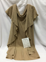 Primary Photo - BRAND:    CLOTHES MENTOR <BR>STYLE: SHAWL <BR>COLOR: BEIGE <BR>SIZE: ONESIZE <BR>OTHER INFO: CITYWRAP - NEW! <BR>SKU: 155-155130-211883