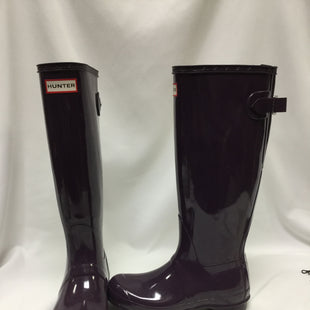 Primary Photo - BRAND: HUNTER STYLE: BOOTS KNEE COLOR: PURPLE SIZE: 6 SKU: 155-155201-18377