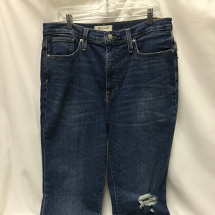 Primary Photo - BRAND: MADEWELL STYLE: JEANS COLOR: DENIM SIZE: 12 OTHER INFO: NEW! SKU: 155-155130-212389