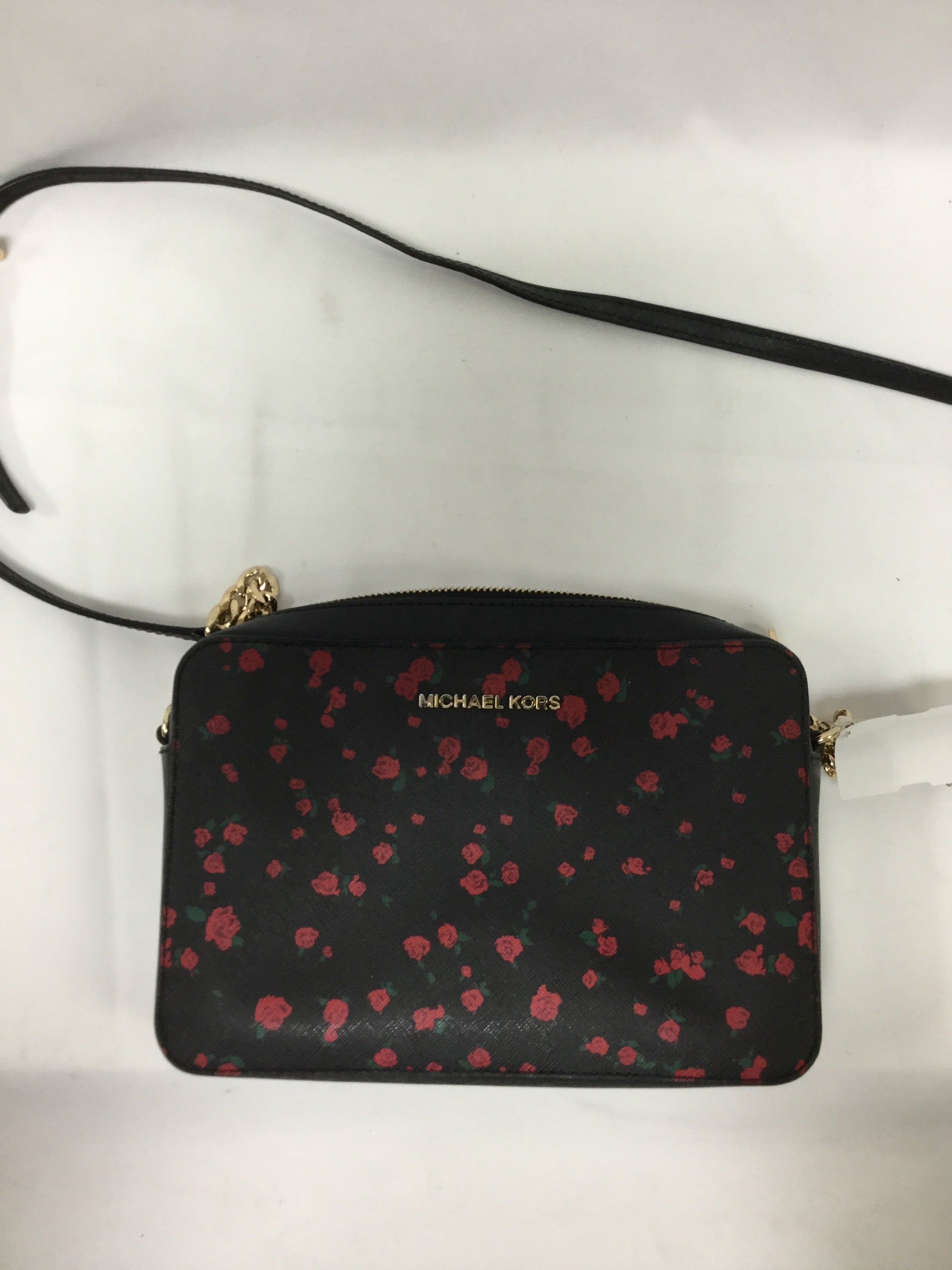 Primary Photo - BRAND: MICHAEL BY MICHAEL KORS <BR>STYLE: HANDBAG DESIGNER <BR>COLOR: FLORAL <BR>SIZE: MEDIUM <BR>SKU: 155-155130-211359