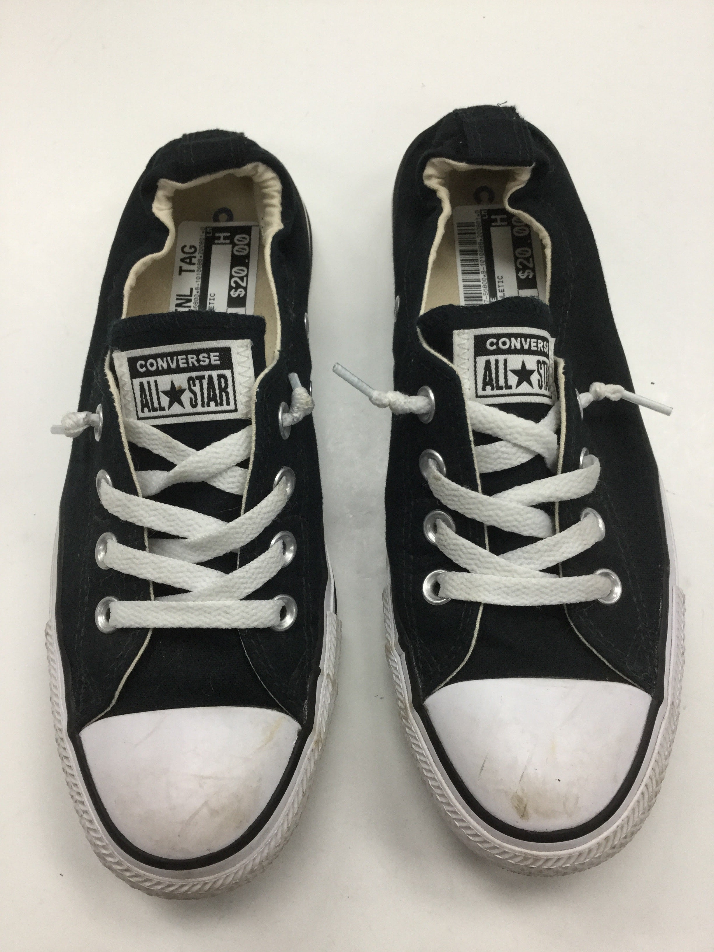 Primary Photo - BRAND: CONVERSE <BR>STYLE: SHOES ATHLETIC <BR>COLOR: BLACK <BR>SIZE: 8 <BR>SKU: 155-155127-56800