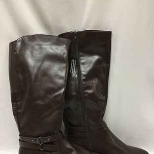 Primary Photo - BRAND: STYLE AND COMPANY STYLE: BOOTS KNEE COLOR: BROWN SIZE: 10 SKU: 155-155215-3383